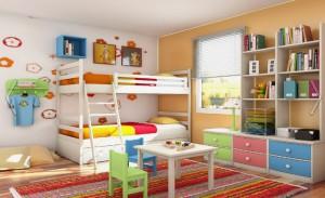 4 300x183 Детская комната, планировка и интерьер