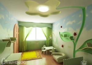 6 300x212 Детская комната, планировка и интерьер
